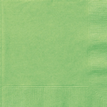 Lime Green Napkins (20pcs) 2-Ply Paper Napkins